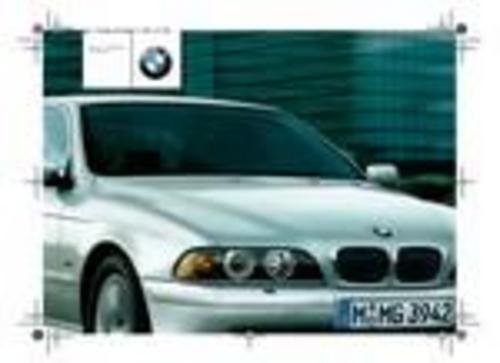 Pay for 2002 BMW E39 520i 523i 525i 535i 540i 520d 525d Owner Manual