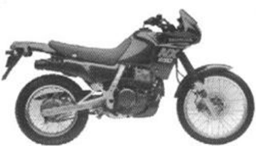 honda nx 650 manual: