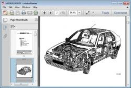 Renault 19 Factory Service Workshop Repair Manual Download