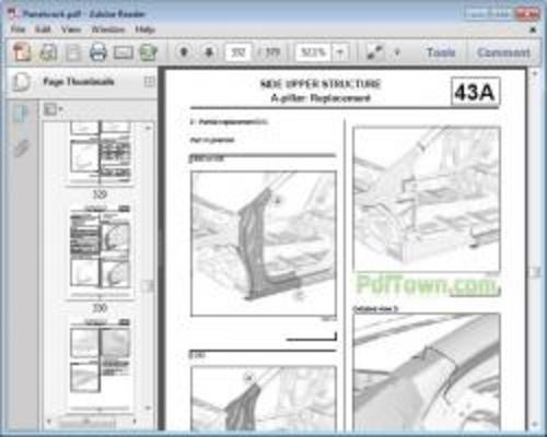 car body repair manual
