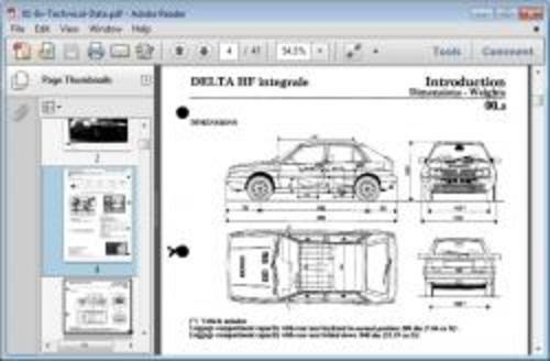 lancia delta integrale 8v 16v evoluzione service. Black Bedroom Furniture Sets. Home Design Ideas