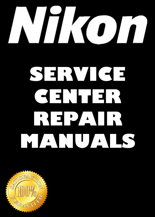 Thumbnail Nikon D200 Repair Manual & Parts List