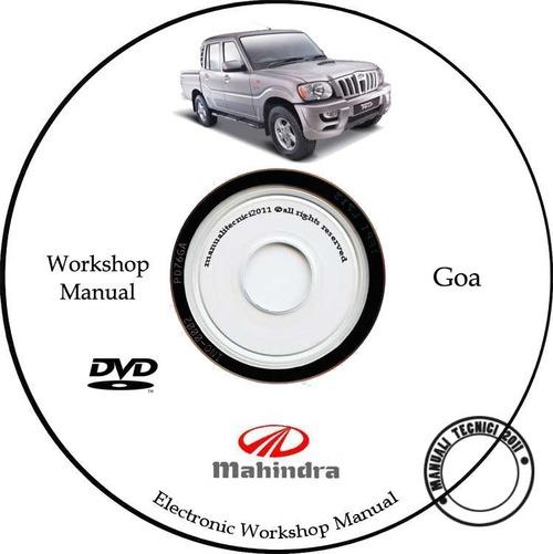 Mahindra Goa  Scorpio - Service Manual