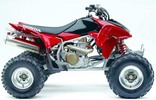 Thumbnail TRX450R TRX 450R OWNERS MANUAL 2005