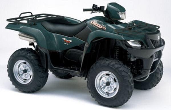 Pay for Suzuki King Quad 700 2004-2005 service manual