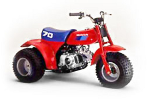 Honda Atc 70 Official Shop Manual 1985