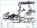 Thumbnail JI Case 400B 410B 411B TRACTORS Workshop Service SHOP Repair MANUAL - INSTANT DOWNLOAD