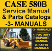Thumbnail Case 580B TLB Service Manual & Parts Catalogs -3- MANUALS - DOWNLOAD