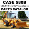 Thumbnail Case 580B with Hydrostatic Transmission Tractor Parts Manual Catalog - DOWNLOAD