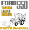 Thumbnail Ford 550 Tractor Illustrated Parts Manual Catalog - DOWNLOAD