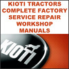 Thumbnail Kioti Daedong DK35 & DK40 Tractor Service Repair Manual - DOWNLOAD