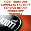 Thumbnail Kioti Daedong FX751 Tractor Service Repair Workshop Manual - IMPROVED - DOWNLOAD