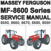 Thumbnail Massey Ferguson MF-8600 MF8600 Series Tractor Service Workshop Repair Manual - DOWNLOAD