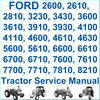 Thumbnail Ford New Holland 10 & 30 Series from 2600 thru 8210 Tractors 6 Vols Service Repair Workshop Manual - DOWNLOAD