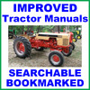 Thumbnail Collection of 2 files - Case 470 570 Tractor FACTORY Repair Service Manual & Operators Manual - DOWNLOAD