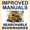 Thumbnail Collection of 2 files - Case 1845C Skid Steer Loader Service Repair Manual & Illustrated Parts Manual - IMPROVED - DOWNLOAD