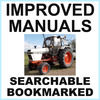 Thumbnail Collection of 2 files: Case David Brown 1490 Tractor Factory Service Manual & Operators Manual - IMPROVED - DOWNLOAD