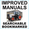 Thumbnail Collection of 2 files: Case David Brown 1594 Tractor Factory Service Manual & Illustrated Parts Manual - IMPROVED - DOWNLOAD