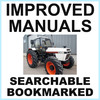 Thumbnail Collection of 3 files: Case David Brown 1494 Tractor Factory Service Manual & Shop Manual & Illustrated Parts Manual - IMPROVED - DOWNLOAD