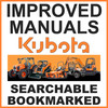Thumbnail Collection of 3 files: Kubota L245F Tractor Service Repair Manual, Parts Manual & Operators Manual - IMPROVED - DOWNLOAD