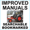 Thumbnail Collection of 2 files: Case David Brown 1190 Tractor Factory Service Manual & Operators Manual - IMPROVED - DOWNLOAD