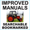 Thumbnail Collection of 4 files: Case David Brown 1290 Tractor Factory Service Manual & Shop Manual & Parts Manual & Special Equipment Catalog - IMPROVED - DOWNLOAD