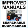Thumbnail Collection of 2 files: Case David Brown 1294 Tractor Factory Service Manual & Operators Manual - IMPROVED - DOWNLOAD