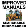 Thumbnail Collection of 4 files: Case 580 Super L 580SL Service Manual & Operators Manual & Engine Repair Manual & Parts Manual - DOWNLOAD