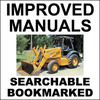 Thumbnail Collection of 4 files: Case 570LXT Loader Landscaper Service Manual & Operators & Engine Repair & Parts Manuals - DOWNLOAD