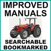 Thumbnail Collection of 3 files: Massey Ferguson MF 400 Series 415 425 435 440 445 460 465 475 Tractor Service Manual, Owners Manual & RTS - IMPROVED - DOWNLOAD