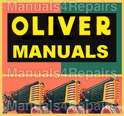 Pay for Oliver 550 Tractor PARTS MANUAL Illustrated Parts Manual Catalog IPL IPC - DOWNLOAD