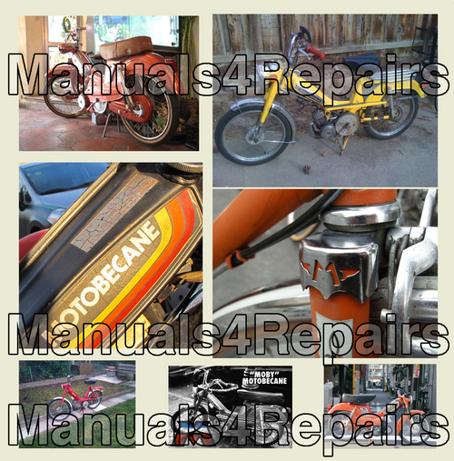 Pay for Motobecane 50 VLC & MOBY Moped Illustrated PARTS CATALOG Manual IPL IPC - DOWNLOAD *
