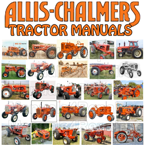 pay for allis chalmers 170 tractor operators owner instruction manual -  download