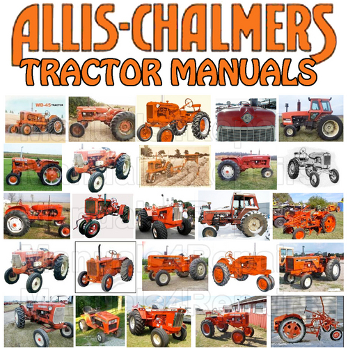 Pay for Allis Chalmers 170 Tractor SHOP Service Repair Manual & Operator Owner Manual -2- MANUALS - DOWNLOAD