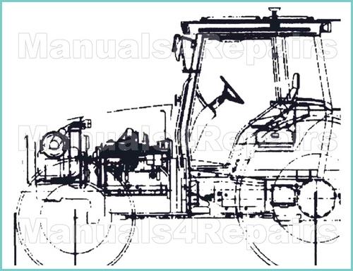 ji case 400b 410b 411b tractors workshop service shop repair manual - instant download