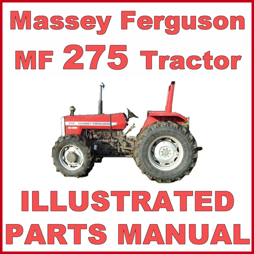 massey ferguson mf275 275 tractor illustrated parts manual catalog rh tradebit com