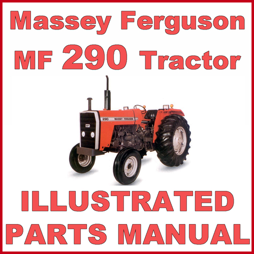 massey ferguson mf290 mf 290 tractor illustrated parts manual dow rh tradebit com 290 amberjack parts manual stihl 290 parts manual