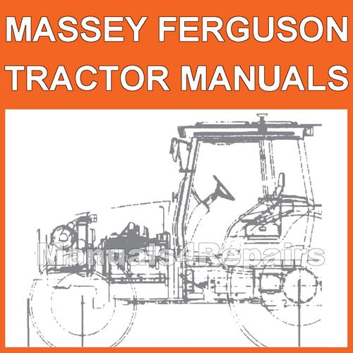 Massey Ferguson Repair Parts : Massey ferguson mf series tractor illustrated parts