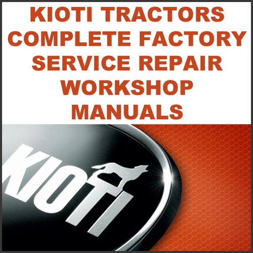 kioti daedong fx751 tractor workshop repair service manual