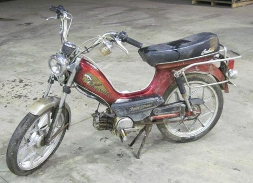 Pay for Indian AMI-50 Four Stroke Moped Dealer Workshop Repair Manual - DOWNLOAD