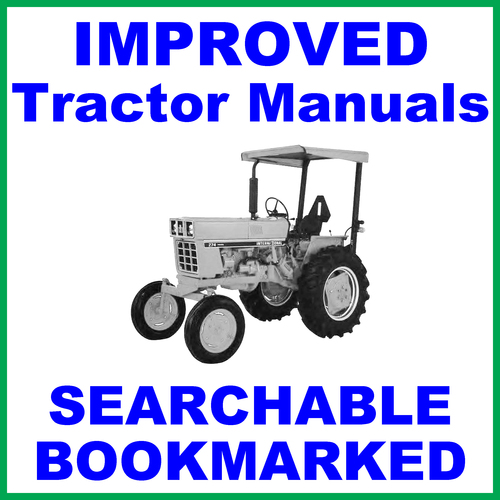 Pay for Collection of 2 files - IH International 274 Tractor Service Repair Manual & Operators Instruction Manual - IMPROVED - DOWNLOAD