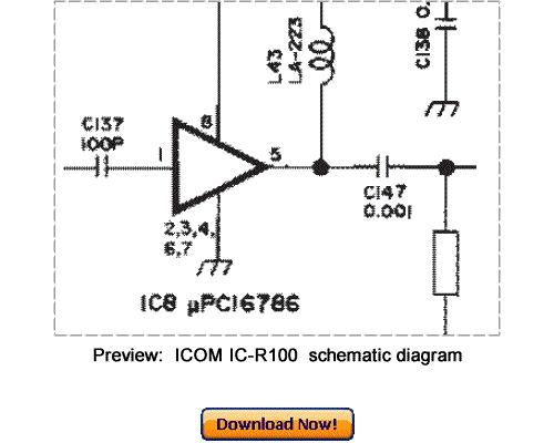 Free Download ICOM IC-R100 Service Repair Manual Download thumbnail