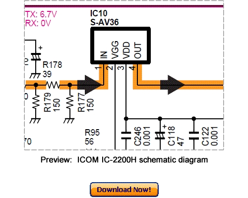 Pay for Download ICOM IC-2200H Service Repair Manual