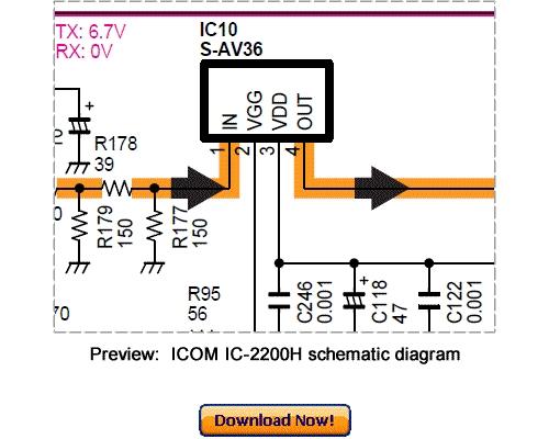 Pay for Download ICOM IC-2200H Service Repair Manual