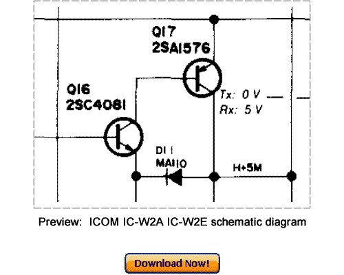 Free Download ICOM IC-W2A IC-W2E Service Repair Manual Download thumbnail