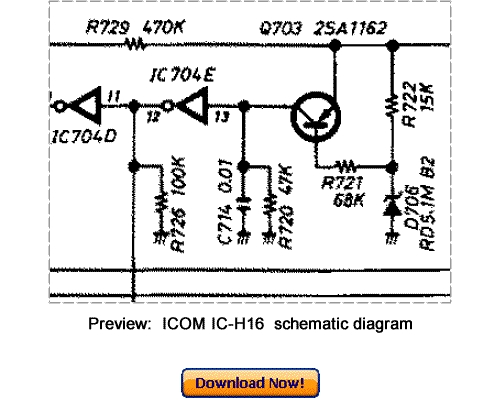 Pay for Download ICOM IC-H16 Service Repair Manual