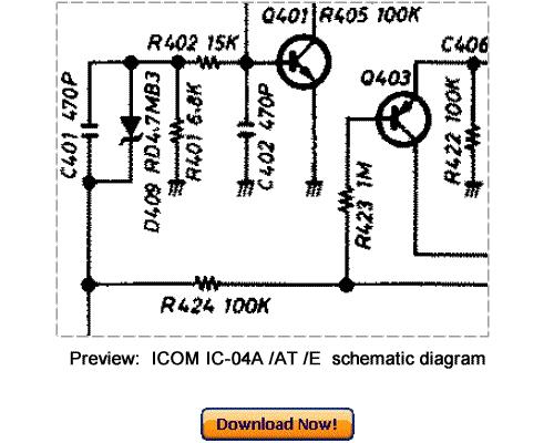 download icom ic-04a ic-04at ic-04e service repair manual