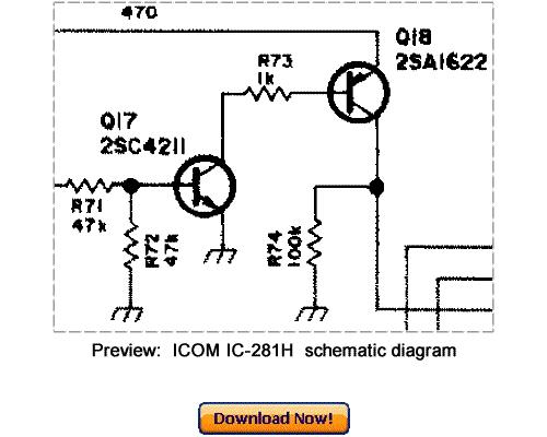 download icom ic-281h service repair manual