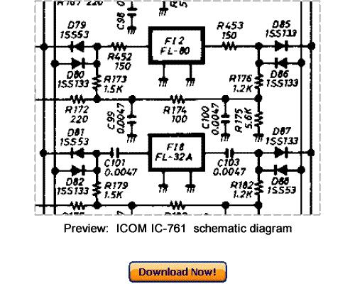 download icom ic-761 service repair manual