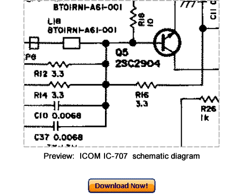 Pay for Download ICOM IC-707 Service Repair Manual
